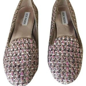 Steve Madden Multicolor Tweed Knitted Loafers
